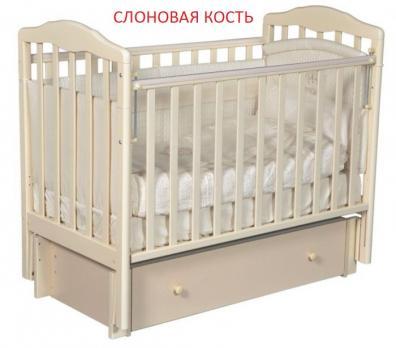Кроватка  детская  Алита 4/6 универсальный маятник  Антел