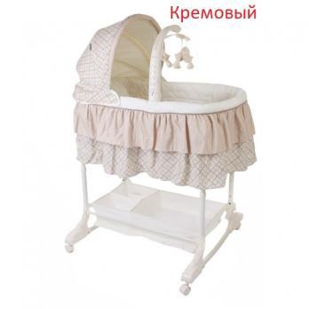 Кроватка-люлька детская Sweet Dream (mobile) 3в1 Jetem