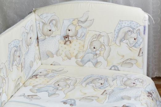 2050-Бортик в кроватку Lappetti «Сони»