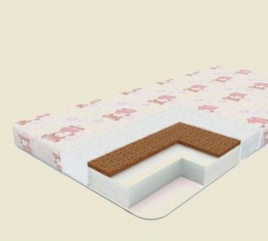 БР-13- Матрас в кроватку Маугли Юниор Премиум 11 120х60х11 см