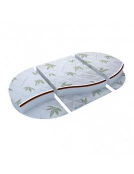 """Матрас в кроватку """"Маугли"""" Eco Life -12 (Круг+Овал) 125х75х80мм"""
