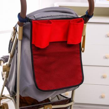 1556404-Сумка-органайзер на коляску, цвет МИКС  (СМЛ-173)