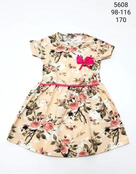 578-1- Платье Fosforlu kids  Турция