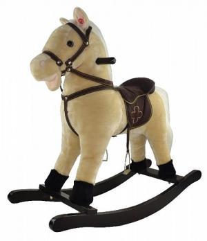 GS2022- Качалка  - Лошадь  музыкальная