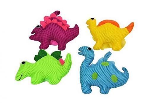 """Бусинка Мочалка """"Динозаврик""""  цвета в ассортименте"""