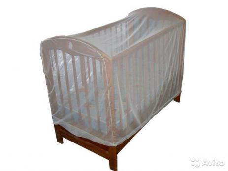 2202- Москитная сетка на кроватку