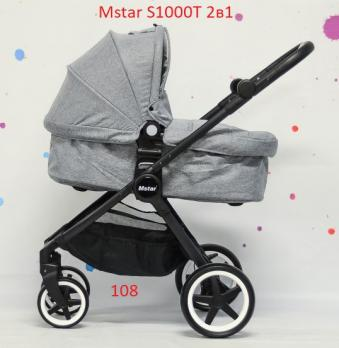 Коляска детская 2в1 Mstar s1000